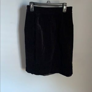 Lillie Rubin Laides Black Valour Skirt